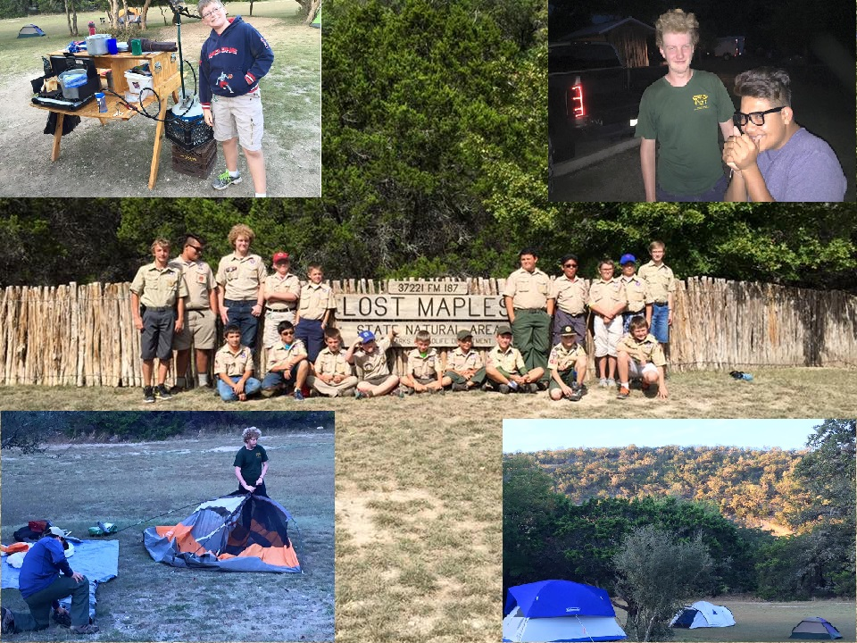 2015 Lost Maples Campout